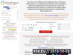 Miniaturka smartpage.pl (Usługi portalu randkowego)