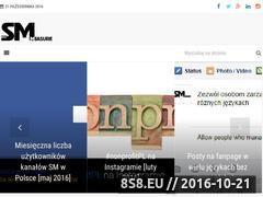 Miniaturka smmeasure.eu (Pomiary mediów społecznościowych)