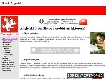 Zrzut strony Angielski przez Internet - Doradztwo językowe