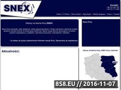 Miniaturka domeny www.snex.eu