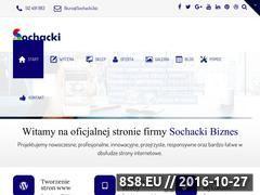 Miniaturka domeny www.sochacki.biz