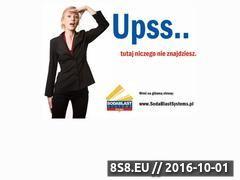 Miniaturka domeny www.sodablastsystem.pl