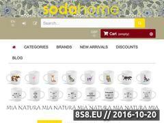 Miniaturka domeny sodahome.net