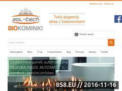 Miniaturka domeny sol-techbiokominki.pl