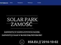 Miniaturka domeny www.solarpark-zamosc.pl