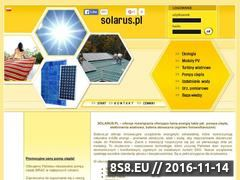 Miniaturka domeny solarus-tania-energia.pl