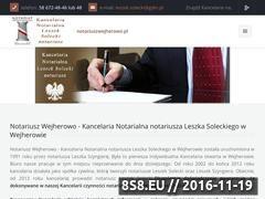 Miniaturka domeny solecki-notariusz.pl