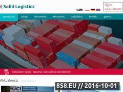 Miniaturka domeny www.solid-logistics.com.pl