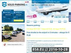 Miniaturka solidparking.pl (Parking z transferem na lotnisko Modlin)