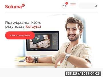 Zrzut strony Agencja reklamowa