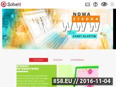 Miniaturka Strona internetowa studia reklamy SolveIT (www.solveit.pl)