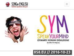 Miniaturka domeny songinenglish.pl