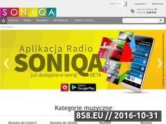 Miniaturka soniqa.pl (Muzyka bez ZAiKS oraz Muzyka Komercyjna)
