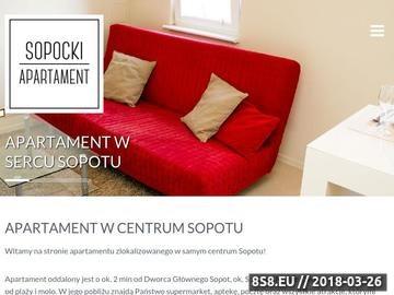 Zrzut strony Sopocki Apartament - Apartament w centrum Sopotu