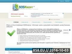 Miniaturka www.soskredyt.pl (Kredyty i pożyczki)