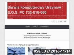 Miniaturka sospc.waw.pl (Serwis komputerowy Ursynów)