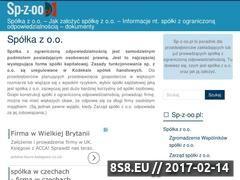 Miniaturka domeny sp-z-oo.pl