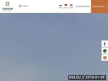 Zrzut strony Hotel SPA Jawor w Bielsku-Białej