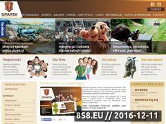 Miniaturka domeny www.sparta.org.pl
