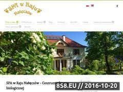 Miniaturka domeny www.spawraju.pl
