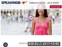 Miniaturka domeny speakingo.pl