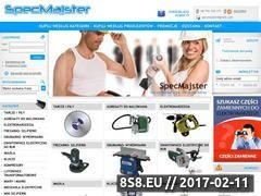 Miniaturka domeny www.specmajster.pl