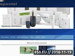 Miniaturka domeny spectel.com.pl