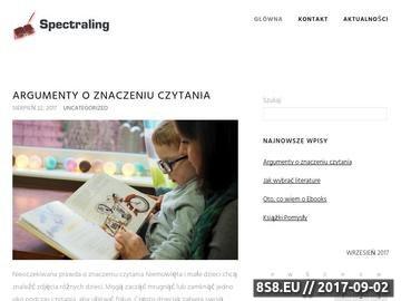 Zrzut strony Tłumaczenia specjalistyczne Kraków