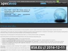 Miniaturka domeny www.specweb.pl