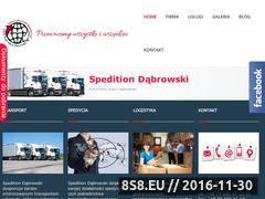 Miniaturka domeny www.speditiondabrowski.eu