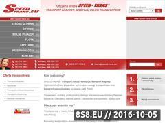 Miniaturka domeny speed-trans.eu