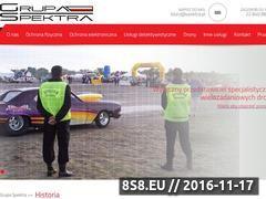 Miniaturka spektra.pl (Ochrona fizyczna, ochrona elektroniczna)