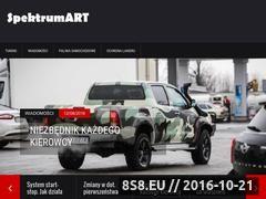 Miniaturka domeny spektrumart.pl