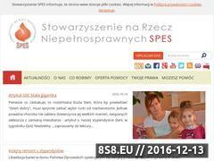 Miniaturka domeny spes.org.pl