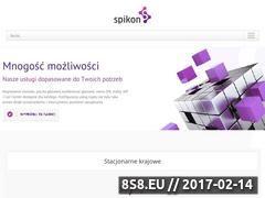 Miniaturka domeny www.spikon.pl