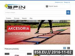 Miniaturka domeny spin-sport.pl