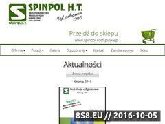 Miniaturka domeny www.spinpol.com.pl