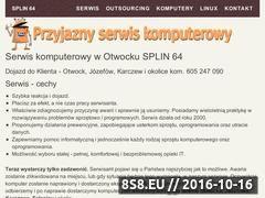 Miniaturka domeny splin.com.pl