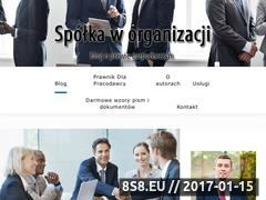 Miniaturka domeny spolka-w-organizacji.pl