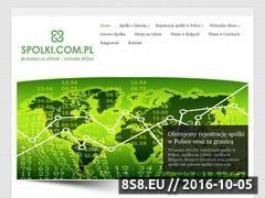 Miniaturka domeny spolki.com.pl