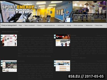 Zrzut strony Sport-energy.pl