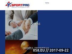 Miniaturka sportpag.pl (Promocje bukmacherskie oraz bonusy bukmacherskie)