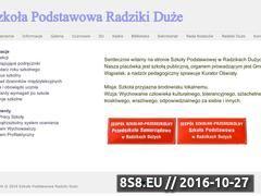 Miniaturka domeny www.spradziki.edu.pl