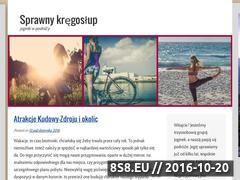 Miniaturka domeny sprawnykregoslup.pl