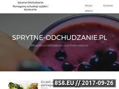 Miniaturka domeny sprytne-odchudzanie.pl
