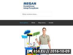 Miniaturka domeny sprzatanie-megan.waw.pl
