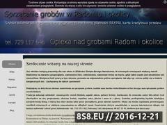Miniaturka domeny sprzataniegrobow.radom.pl