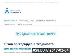 Miniaturka domeny sprzatanieporemoncie.pl