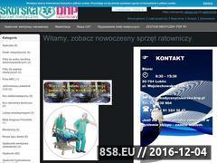 Miniaturka domeny www.sprzet-ratownictwa-medycznego.pl