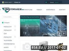 Miniaturka spydevice.pl (Sklep szpiegowski i biuro detektywistyczne)